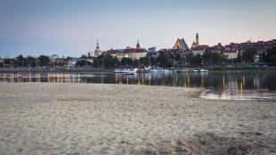 Plaże, rycerze, fontanny: majówka w Warszawie