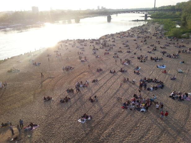 Plaża zmieni charakter tvnwarszawa.pl