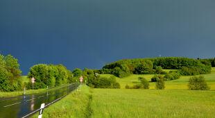 W Hażlachu wylała pobliska rzeka