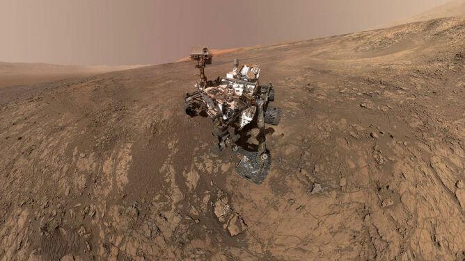 """""""Jesteśmy na dobrej drodze"""". <br />Cząsteczki organiczne odkryte na Marsie"""