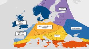 Jesień w Europie w prognozach Amerykanów. Polska ciepła, ale z gwałtowną pogodą