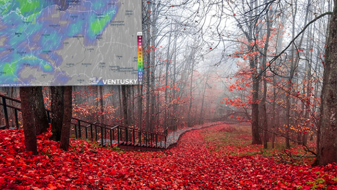 Chłodno, miejscami deszczowo. <br />We Wszystkich Świętych do 12 stopni