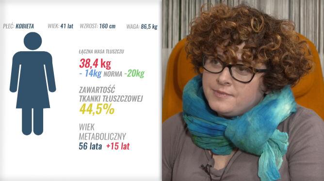 Musi schudnąć 20 kg. Tłuszcz to aż 44 proc. jej ciała