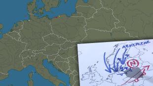 Poranek z burzami w północnej Polsce