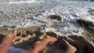 Drzemka na plaży? Lepiej pamiętajcie o pływach