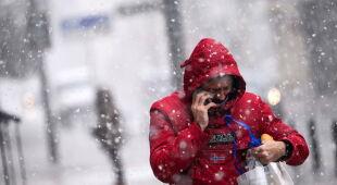 W Hiszpanii spadł śnieg (PAP/EPA/JON RODRIGUEZ BILBAO)
