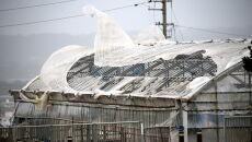 Skutki tajfunu Maysak (PAP/EPA/HITOSHI MAESHIRO)