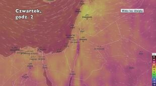 Temperatura w Izraelu od czwartku do niedzieli