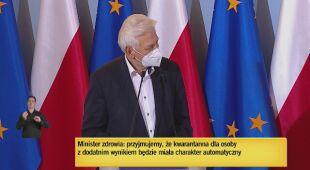 Profesor Andrzej Horban komentuje decyzję dotyczącą testów antygenowych