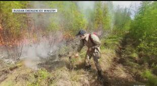 Spłonęło 35 tysięcy hektarów terenu